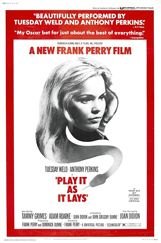 Tuesday Weld in Play It As It Lays (1972)
