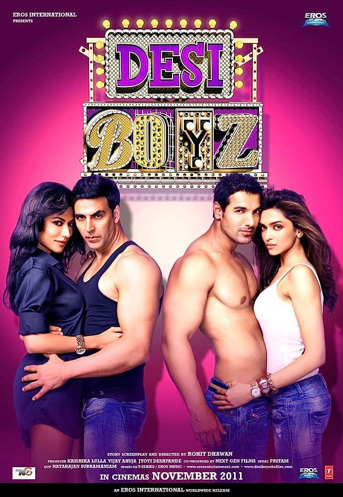 Desi Boyz 2011 Hindi Movie 720p HDRip 900MB Download