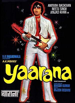 دانلود زیرنویس فارسی فیلم Yaarana 1981
