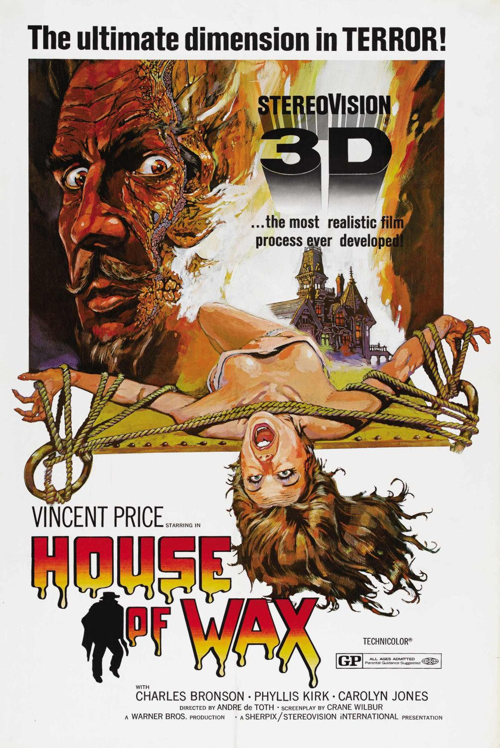 Download wallpaper house of wax, house of wax, film, movies free.