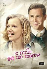 Joanna Kulig and Stefan Pawlowski in O mnie sie nie martw (2014)