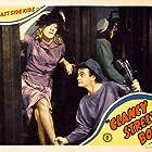 Leo Gorcey, Huntz Hall, and Amelita Ward in Clancy Street Boys (1943)