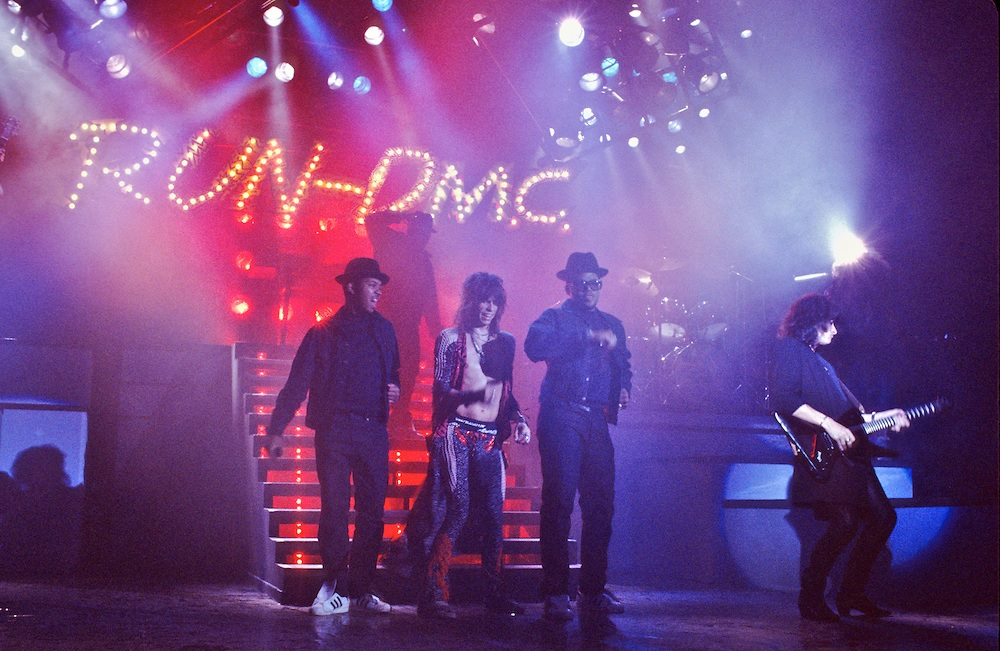 Run Dmc And Aerosmith Walk This Way 1986