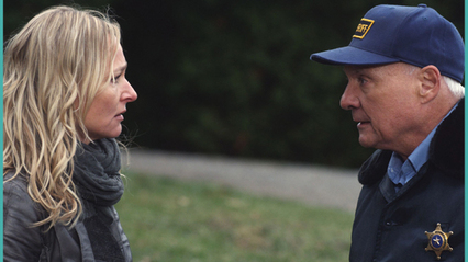 Kari Matchett and Kenneth Welsh in The Riverbank (2012)