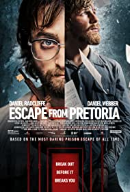 Daniel Radcliffe and Daniel Webber in Escape from Pretoria (2020)