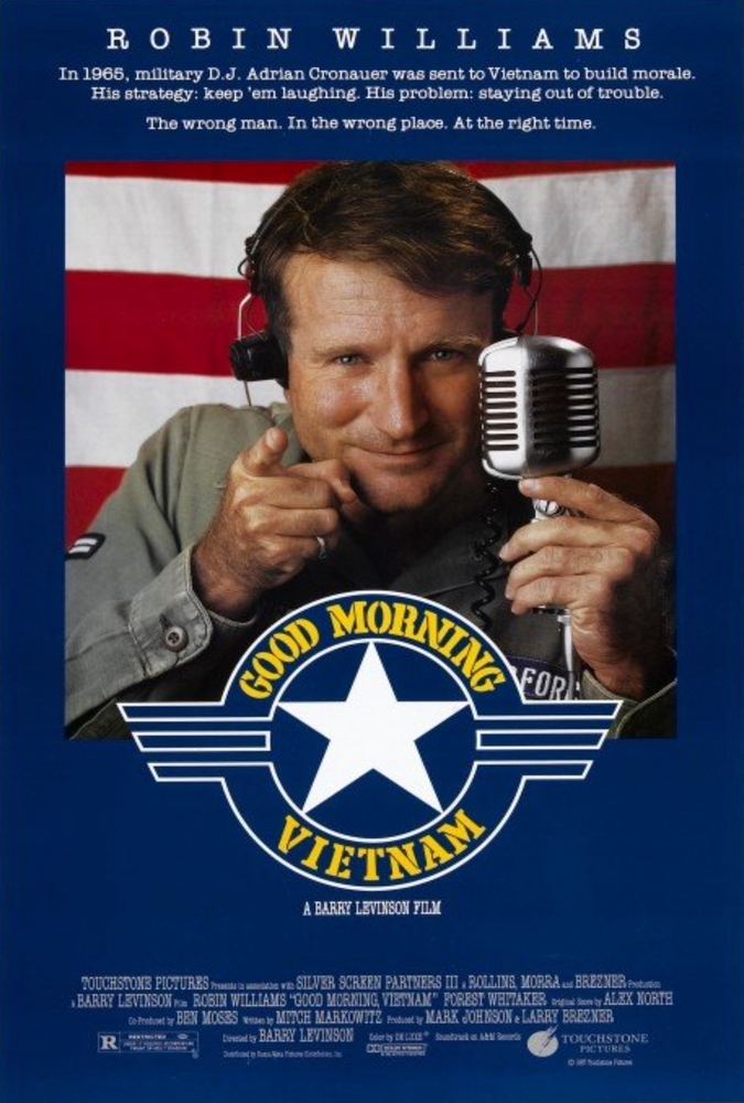 Robin Williams in Good Morning, Vietnam (1987)