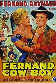 Fernand cow-boy Poster