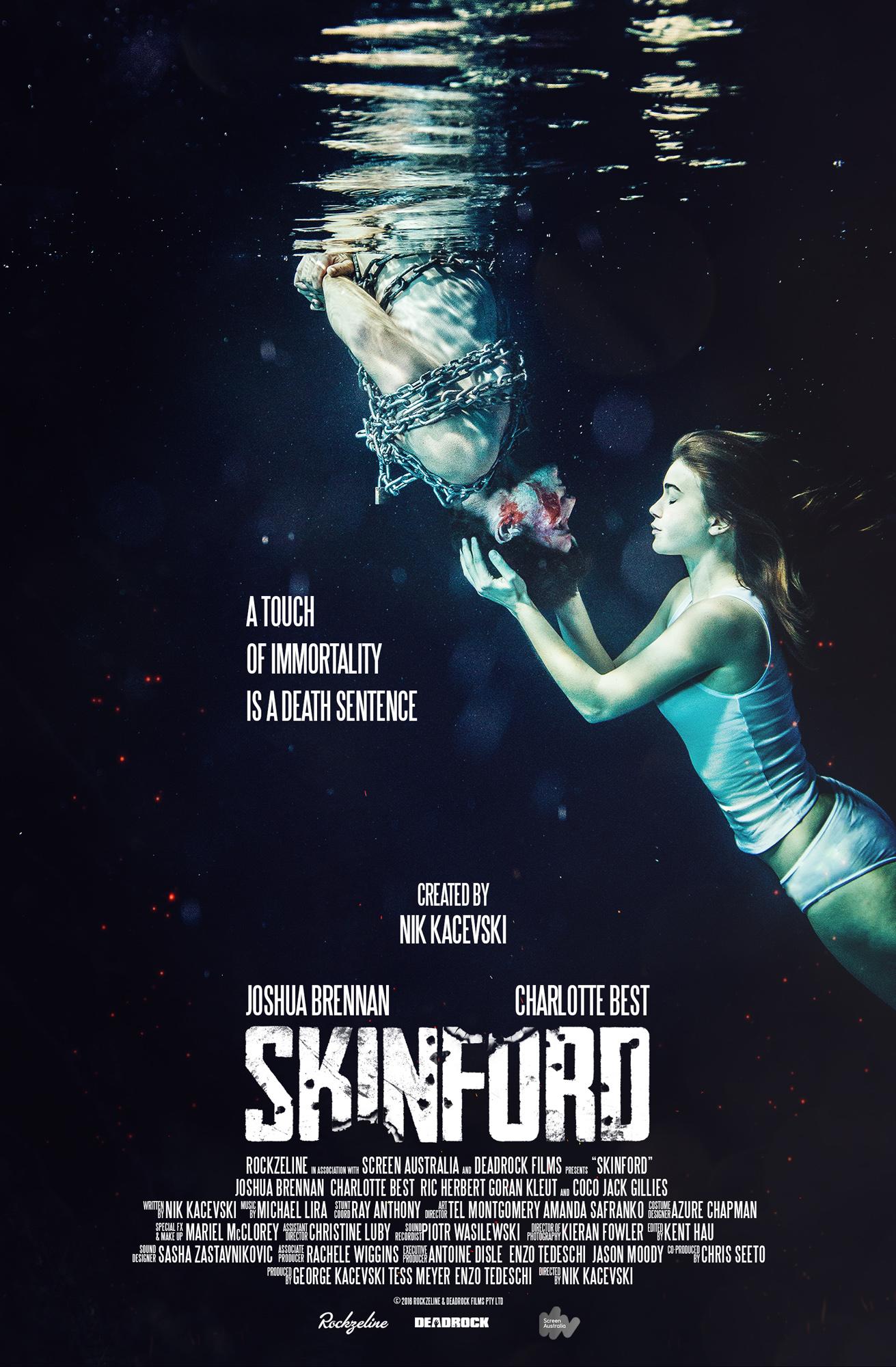 Joshua Brennan and Charlotte Best in Skinford (2017)