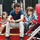 Romain Duris, Pablo Mugnier-Jacob, and Margaux Mansart in Casse-tête chinois (2013)