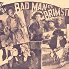 Wallace Beery, Virginia Bruce, Bruce Cabot, Joseph Calleia, Cliff Edwards, and Dennis O'Keefe in The Bad Man of Brimstone (1937)
