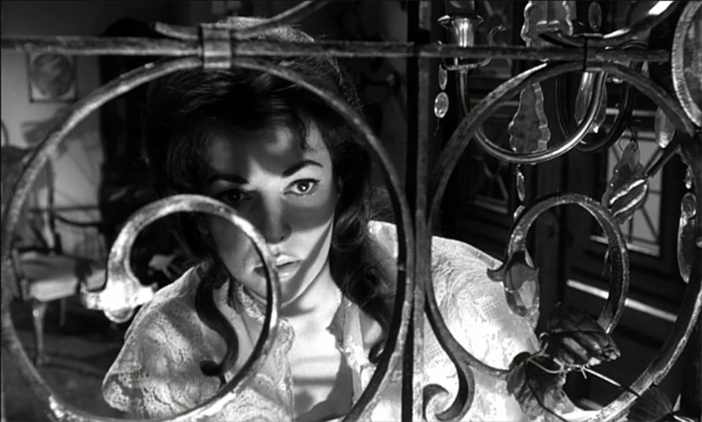 Karin Dor in Der Fälscher von London (1961)