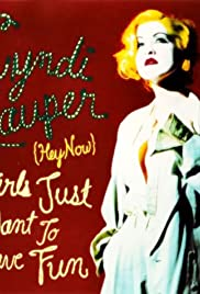 Cyndi Lauper: Girls Just Want to Have Fun Poster