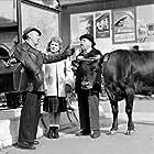 Jeannette Batti and Bourvil in La traversée de Paris (1956)