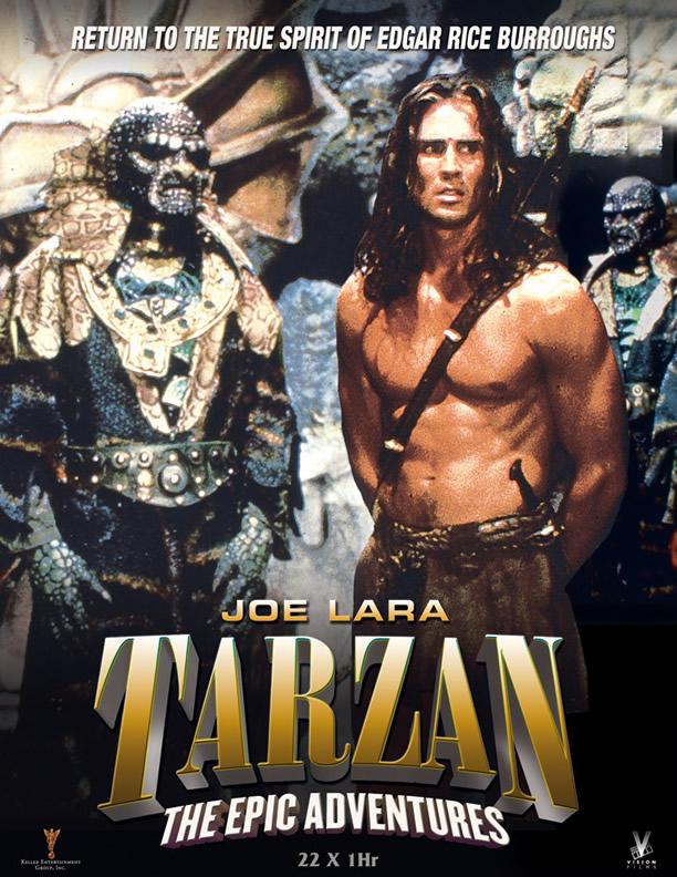 Poster serial TV, Tarzan: The Epic Adventures.