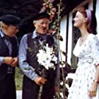 Christian Arhoff, Peter Malberg, and Jane Thomsen in Kampen om Næsbygård (1964)
