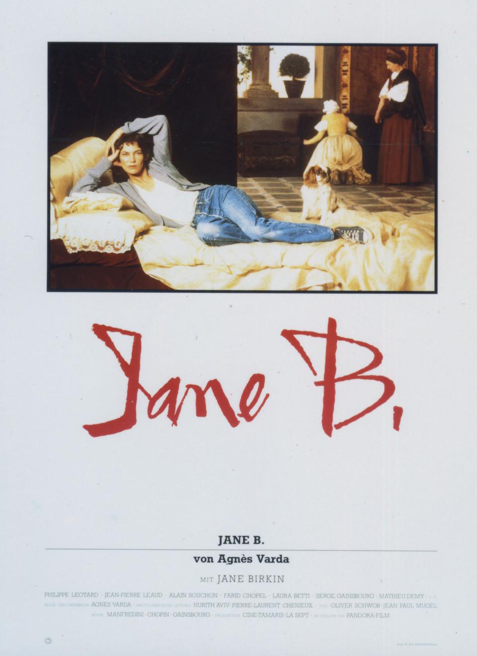 Jane Birkin in Jane B. par Agnès V. (1988)