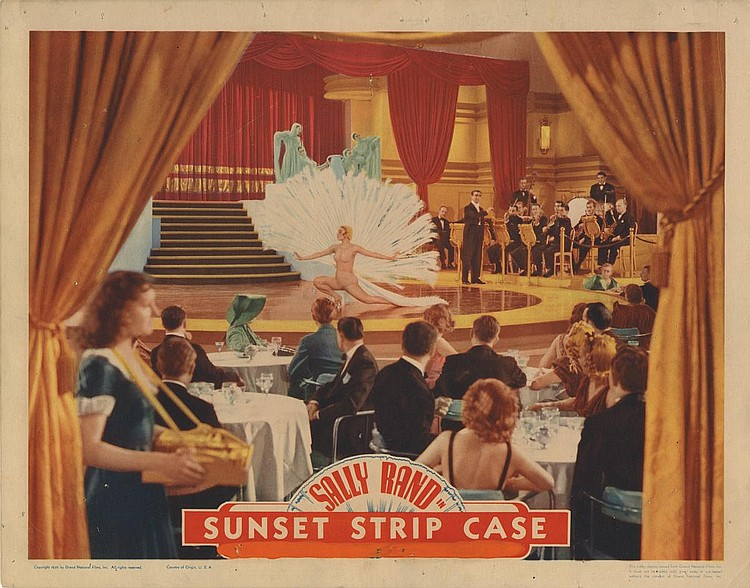 Henry King and Sally Rand in Sunset Murder Case (1938)