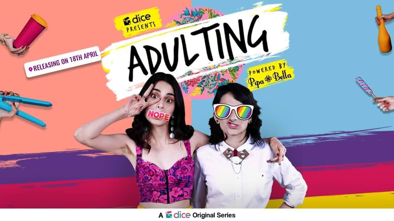 Yashaswini Dayama and Aisha Ahmed in Adulting (2018)
