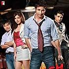 Shahid Kapoor, Vir Das, Meiyang Chang, and Anushka Sharma in Badmaa$h Company (2010)