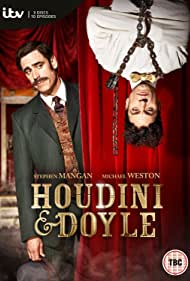 Stephen Mangan and Michael Weston in Houdini and Doyle (2016)