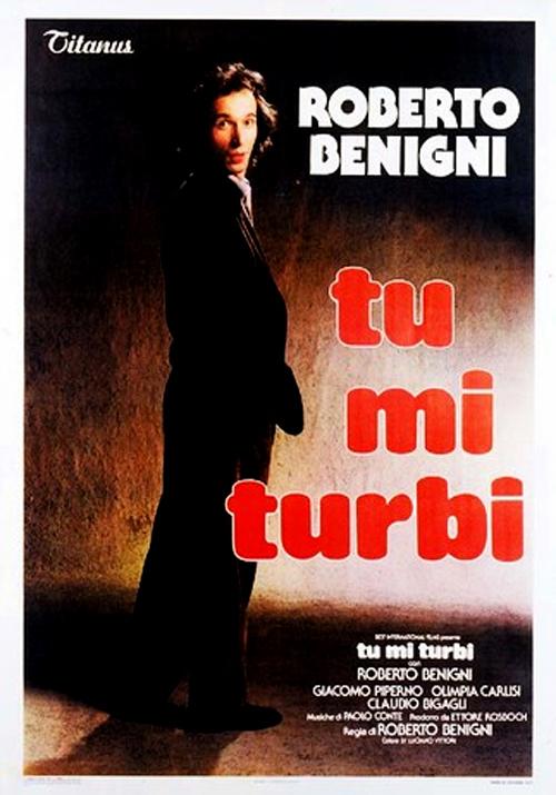 Roberto Benigni in Tu mi turbi (1983)