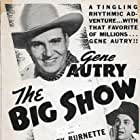 Gene Autry and Smiley Burnette in The Big Show (1936)