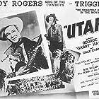 Roy Rogers, Dale Evans, George 'Gabby' Hayes, and Peggy Stewart in Utah (1945)