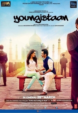 Jackky Bhagnani and Neha Sharma in Youngistaan (2014)
