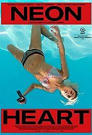 Neon Heart Poster