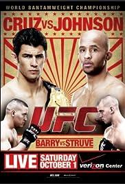 UFC Live: Cruz vs. Johnson Poster