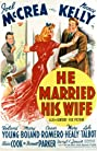He Married His Wife (1940) Poster