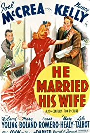 He Married His Wife Poster