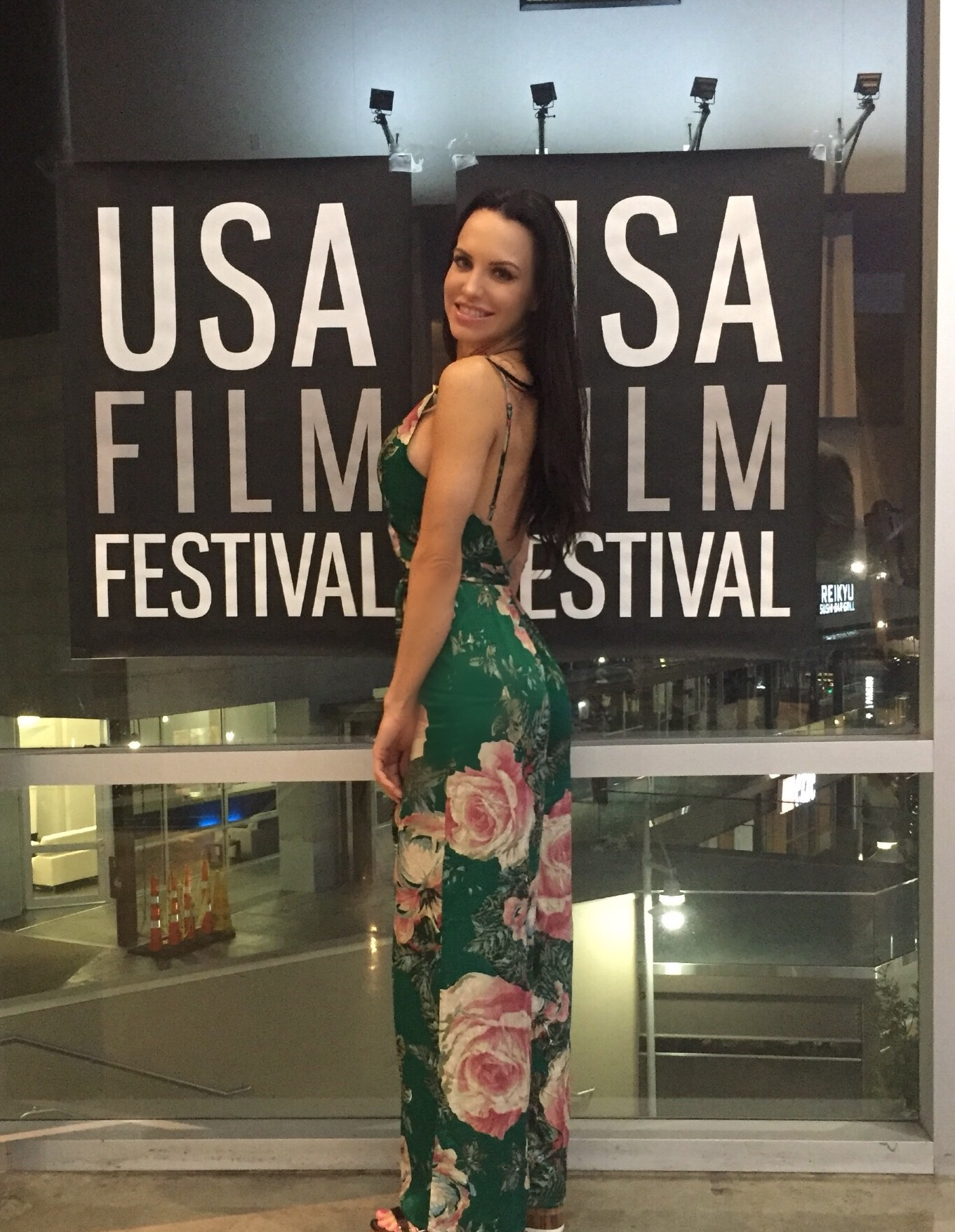 """Erin Marie Garrett at USA Film Festival screening of """"The Harrowing"""" presented by TexFest."""