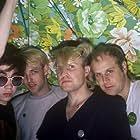 Michael Score, Frank Maudsley, Ali Score, and Paul Reynolds in Bands Reunited (2004)