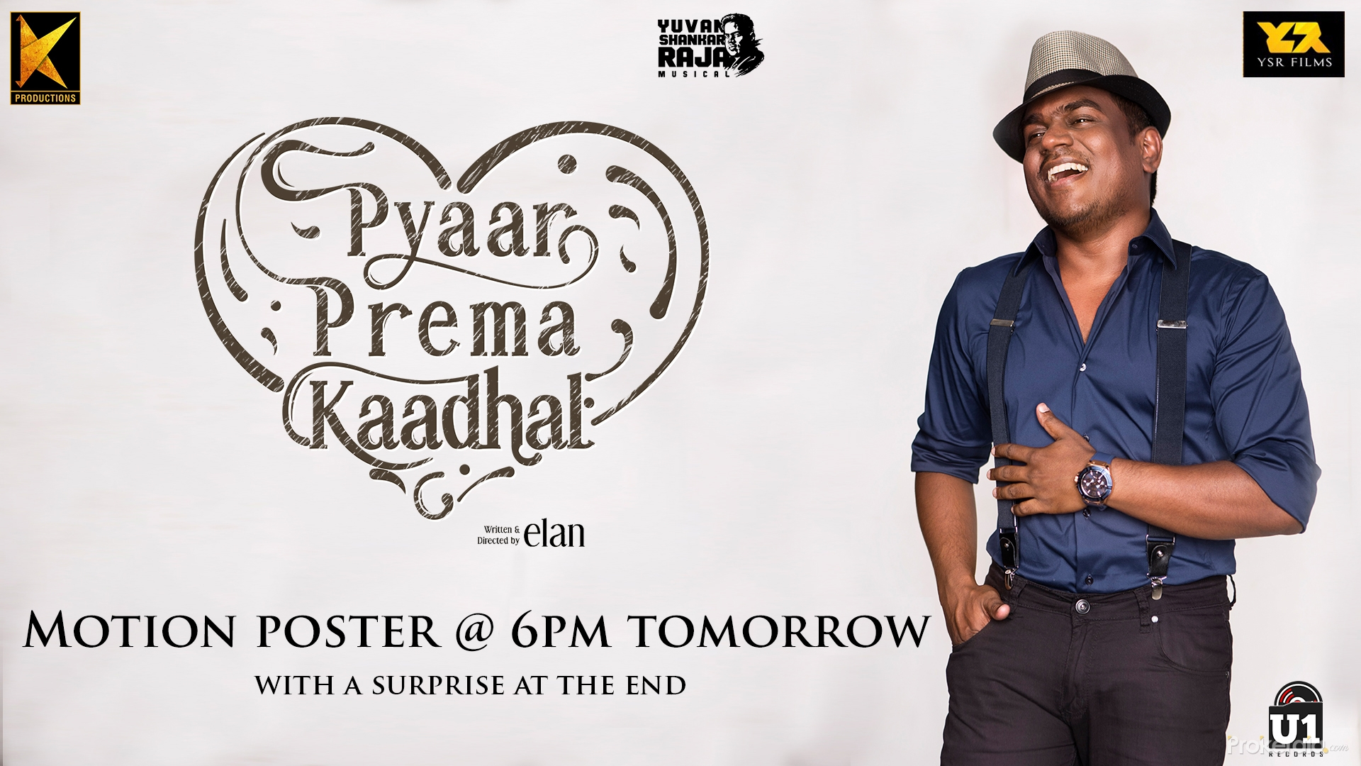 Yuvan Shankar Raja in Pyaar Prema Kaadhal (2018)