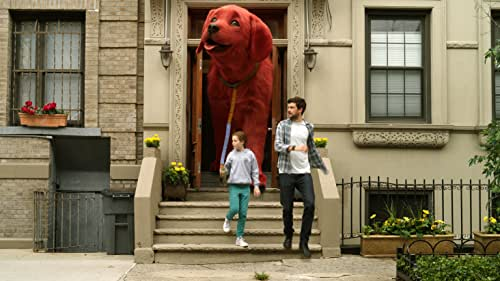 When middle-schooler Emily Elizabeth (Darby Camp) meets a magical animal rescuer (John Cleese) who gifts her a little, red puppy, she never anticipated waking up to find a giant ten-foot hound in her small New York City apartment. While her single mom (Sienna Guillory) is away for business, Emily and her fun but impulsive uncle Casey (Jack Whitehall) set out on an adventure to take a bite out of the Big Apple.