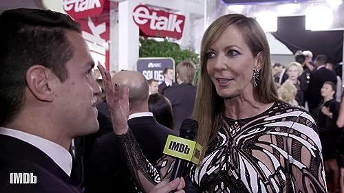 "Allison Janney Salutes Her 'I, Tonya' Bird and ""Big Little Lies"""