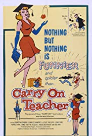 Carry On Teacher Poster