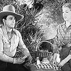 George O'Brien and Virginia Vale in Bullet Code (1940)