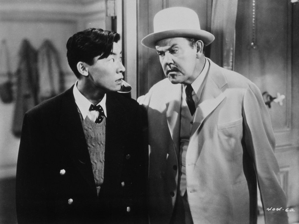 Sidney Toler and Victor Sen Yung in Charlie Chan in Honolulu (1938)