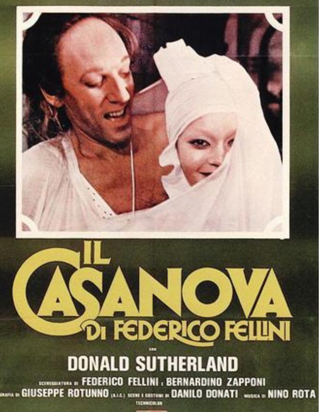 Filmkrönikan Fellini Casanova Tv Episode 1977 Imdb