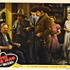 Lionel Barrymore, Wallace Beery, Tom Conway, Laraine Day, Chris-Pin Martin, and Nydia Westman in The Bad Man (1941)