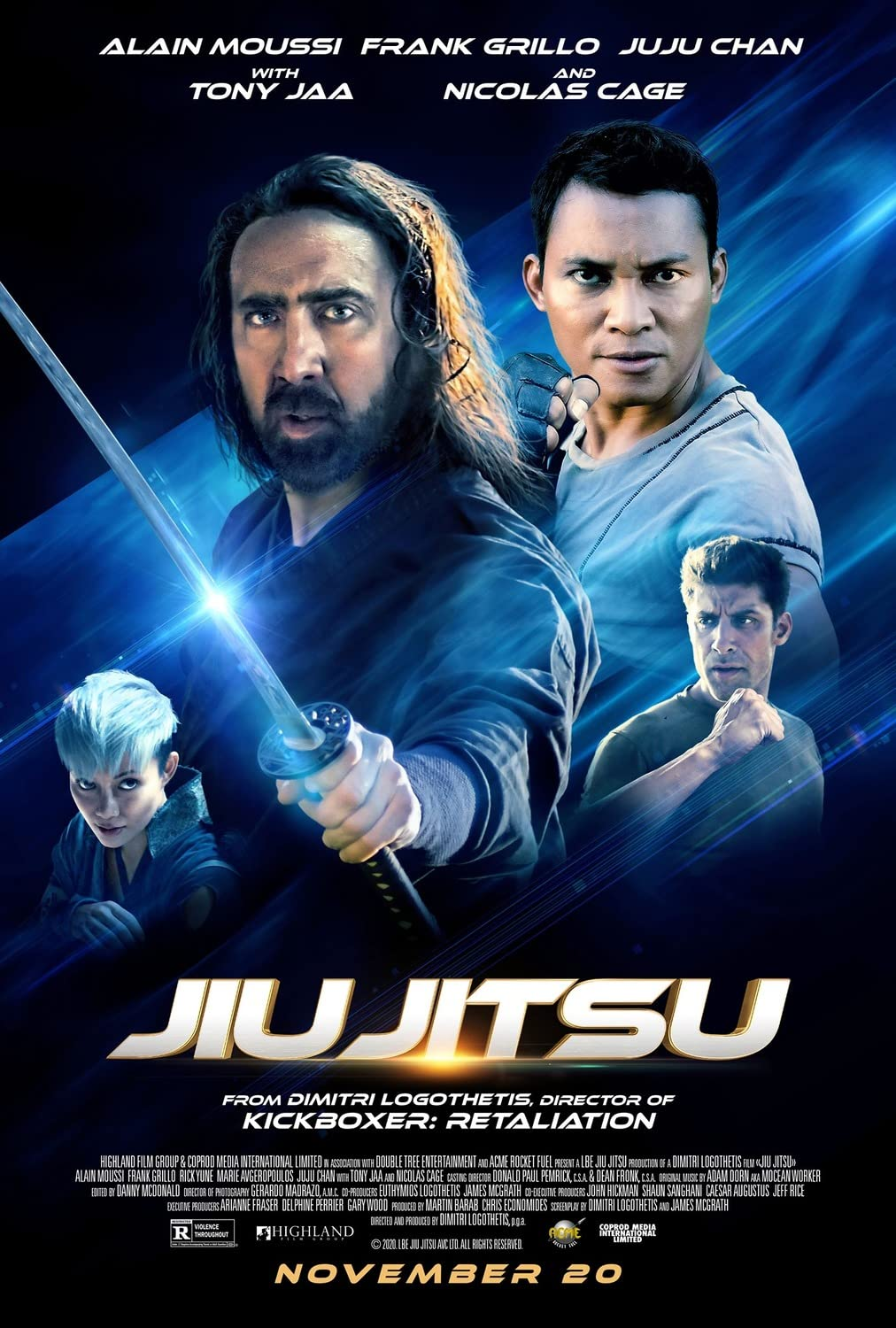 Jiu Jitsu (2020) English 720p HEVC HDRip  x265 AAC ESubs [550MB] Full Movie Download