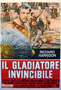 Primary photo for The Invincible Gladiator