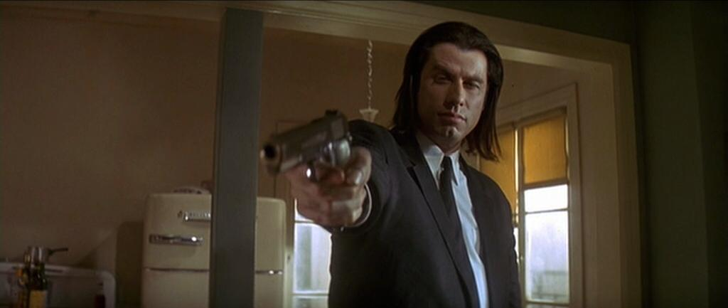 John Travolta in Pulp Fiction 1994