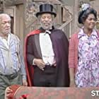 Redd Foxx, Whitman Mayo, and LaWanda Page in Sanford and Son (1972)