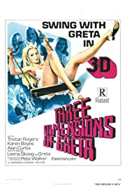 Four Dimensions of Greta (1972) Poster - Movie Forum, Cast, Reviews