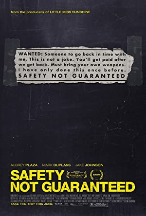 Permalink to Movie Safety Not Guaranteed (2012)