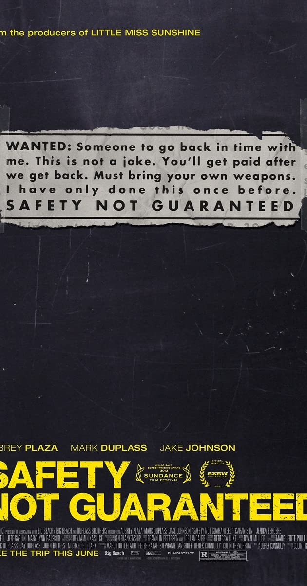 Subtitle of Safety Not Guaranteed