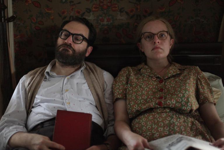 Elisabeth Moss and Michael Stuhlbarg in Shirley (2020)